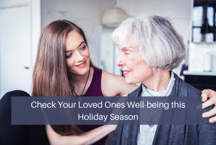 It Is Time To Check on Your Elderly Loved Ones