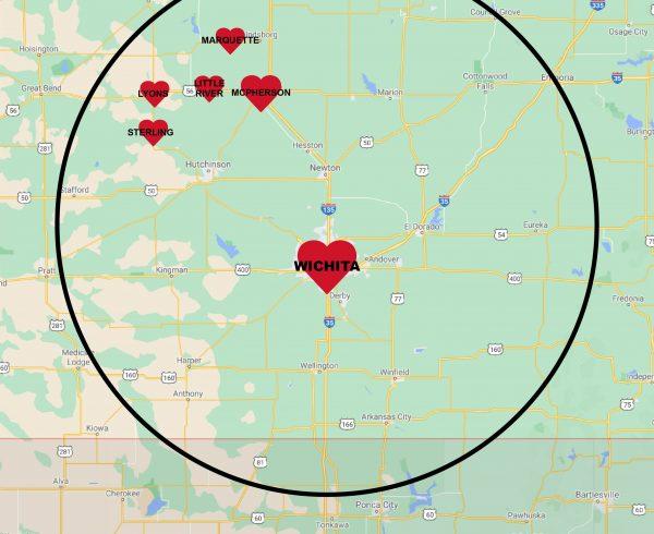 HAW radius Map